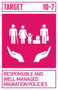 GTI リスト ( GTI List )-SDGs計画に基づき良く管理された移民政策の実施などを通じて、秩序のとれた、安全で規則的かつ責任ある移住や流動性を促進する。