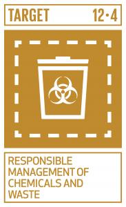 GTI リスト ( GTI List )-SDGs2020年までに、合意された国際的な枠組みに従い、製品ライフサイクルを通じ、環境上適正な化学物資質や全ての廃棄物の管理を実現し、人の健康や環境への悪影響を最小化するため、化学物質や廃棄物の大気、水、土壌への放出を大幅に削減する。