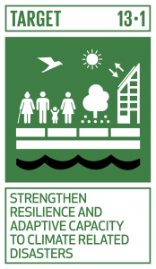 GTI リスト ( GTI List )-SDGs全ての国々において、気候関連災害や自然災害に対する強靱性(レジリエンス)及び適応の能力を強化する。