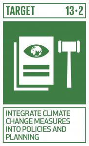 GTI リスト ( GTI List )-SDGs気候変動対策を国別の政策、戦略及び計画に盛り込む。