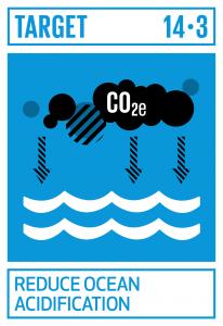 GTI リスト ( GTI List )-SDGsあらゆるレベルでの科学的協力の促進などを通じて、海洋酸性化の影響を最小限化し、対処する。