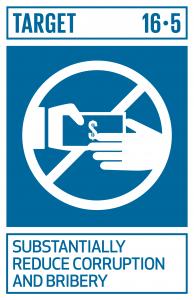 GTI リスト ( GTI List )-SDGsあらゆる形態の汚職や贈賄を大幅に減少させる。