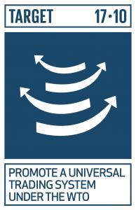 GTI リスト ( GTI List )-SDGsドーハ・ラウンド(DDA)交渉の結果を含めたWTOの下での普遍的でルールに基づいた、差別的でない、公平な多角的貿易体制を促進する。