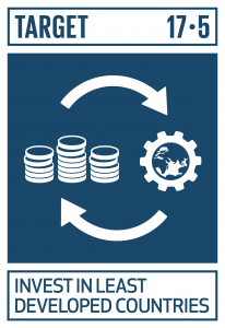 GTI リスト ( GTI List )-SDGs後発開発途上国のための投資促進枠組みを導入及び実施する。