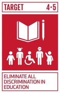 GTI リスト ( GTI List )-SDGs2030年までに、教育におけるジェンダー格差を無くし、障害者、先住民及び脆弱な立場にある子供など、脆弱層があらゆるレベルの教育や職業訓練に平等にアクセスできるようにする。