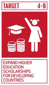 GTI リスト ( GTI List )-SDGs2020年までに、開発途上国、特に後発開発途上国及び小島嶼開発途上国、並びにアフリカ諸国を対象とした、職業訓練、情報通信技術(ICT)、技術・工学・科学プログラムなど、先進国及びその他の開発途上国における高等教育の奨学金の件数を全世界で大幅に増加させる。