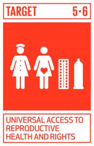 GTI リスト ( GTI List )-SDGs国際人口・開発会議(ICPD)の行動計画及び北京行動綱領、並びにこれらの検証会議の成果文書に従い、性と生殖に関する健康及び権利への普遍的アクセスを確保する。