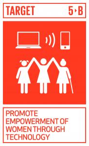 GTI リスト ( GTI List )-SDGs女性の能力強化促進のため、ICTをはじめとする実現技術の活用を強化する。
