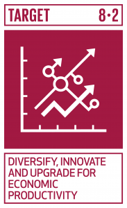 GTI リスト ( GTI List )-SDGs高付加価値セクターや労働集約型セクターに重点を置くことなどにより、多様化、技術向上及びイノベーションを通じた高いレベルの経済生産性を達成する。