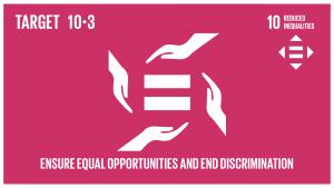 GTI リスト ( GTI List )-SDGs差別的な法律、政策及び慣行の撤廃、並びに適切な関連法規、政策、行動の促進などを通じて、機会均等を確保し、成果の不平等を是正する。