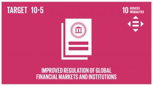 GTI リスト ( GTI List )-SDGs世界金融市場と金融機関に対する規制とモニタリングを改善し、こうした規制の実施を強化する。