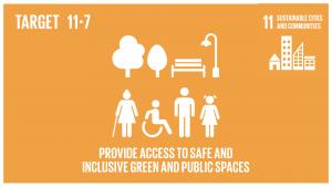 GTI リスト ( GTI List )-SDGs2030年までに、女性、子供、高齢者及び障害者を含め、人々に安全で包摂的かつ利用が容易な緑地や公共スペースへの普遍的アクセスを提供する。