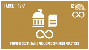 GTI リスト ( GTI List )-SDGs国内の政策や優先事項に従って持続可能な公共調達の慣行を促進する。