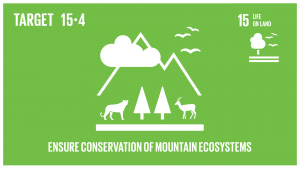 GTI リスト ( GTI List )-SDGs2030年までに持続可能な開発に不可欠な便益をもたらす山地生態系の能力を強化するため、生物多様性を含む山地生態系の保全を確実に行う。