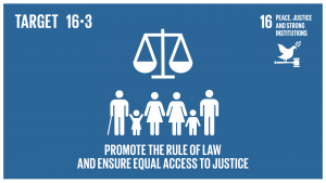 GTI リスト ( GTI List )-SDGs国家及び国際的なレベルでの法の支配を促進し、全ての人々に司法への平等なアクセスを提供する。