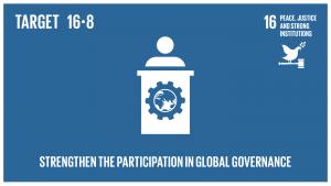 GTI リスト ( GTI List )-SDGsグローバル・ガバナンス機関への開発途上国の参加を拡大・強化する。