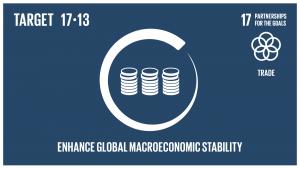 GTI リスト ( GTI List )-SDGs政策協調や政策の首尾一貫性などを通じて、世界的なマクロ経済の安定を促進する。