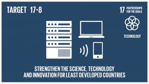 GTI リスト ( GTI List )-SDGs2017年までに、後発開発途上国のための技術バンク及び科学技術イノベーション能力構築メカニズムを完全運用させ、情報通信技術(ICT)をはじめとする実現技術の利用を強化する。