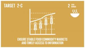 GTI リスト ( GTI List )-SDGs食料価格の極端な変動に歯止めをかけるため、食料市場及びデリバティブ市場の適正な機能を確保するための措置を講じ、食料備蓄などの市場情報への適時のアクセスを容易にする。