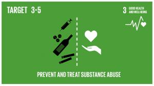 GTI リスト ( GTI List )-SDGs薬物乱用やアルコールの有害な摂取を含む、物質乱用の防止・治療を強化する。