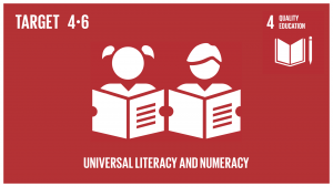 GTI リスト ( GTI List )-SDGs2030年までに、全ての若者及び大多数(男女ともに)の成人が、読み書き能力及び基本的計算能力を身に付けられるようにする。