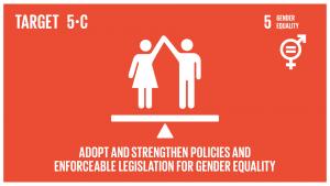 GTI リスト ( GTI List )-SDGsジェンダー平等の促進、並びに全ての女性及び女子のあらゆるレベルでの能力強化のための適正な政策及び拘束力のある法規を導入・強化する。