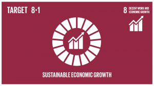 GTI リスト ( GTI List )-SDGs各国の状況に応じて、一人当たり経済成長率を持続させる。特に後発開発途上国は少なくとも年率7%の成長率を保つ。