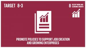 GTI リスト ( GTI List )-SDGs生産活動や適切な雇用創出、起業、創造性及びイノベーションを支援する開発重視型の政策を促進するとともに、金融サービスへのアクセス改善などを通じて中小零細企業の設立や成長を奨励する。