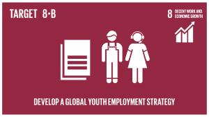 GTI リスト ( GTI List )-SDGs2020年までに、若年雇用のための世界的戦略及び国際労働機関(ILO)の仕事に関する世界協定の実施を展開・運用化する。