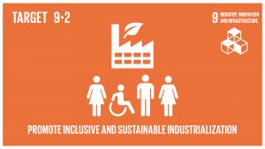 GTI リスト ( GTI List )-SDGs包摂的かつ持続可能な産業化を促進し、2030年までに各国の状況に応じて雇用及びGDPに占める産業セクターの割合を大幅に増加させる。後発開発途上国については同割合を倍増させる。